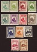 Espagne, 11e Congrès International Des Chemins De Fer, Timbres Neufs Avec Charnière *, N° Michel 444 à 456, 1930