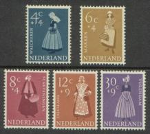 Nederland 1958 NVPH 707-711 Zomerzegels Postfris (MNH) - Period 1949-1980 (Juliana)