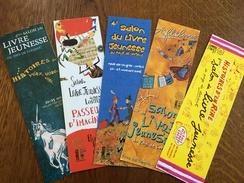 Marque Page Salon Du Livre Lorient - Marque-Pages