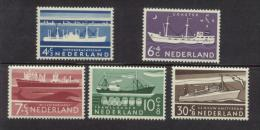 Nederland 1957 NVPH 688-692 Zomerzegels Postfris (MNH) - Neufs