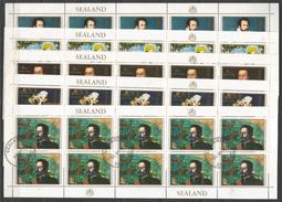 10x SEALAND - Famous People - Ships - CTO