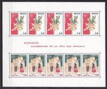 Monaco Bloc N° 19 ** Europa 1981 Célébration De La Fête Des Rameaux