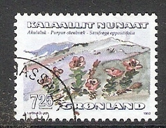 004292 Greenland 1992 Flowers 7K25 FU - Greenland