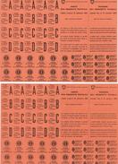 Lot - Cartes De Denrées Alimentaires , Savon, Textiles , Huile... Schweizerische Eidgenossenschaft , Crix-Rouge Suisse - Vieux Papiers