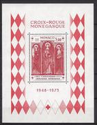 Monaco Bloc N° 7 ** Croix Rouge 1973