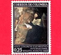Nuovo - MNH - COLOMBIA - 1968 - 39° Congresso Eucaristico - S. Agostino Di G.Vasquez - 0.25