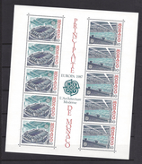 Monaco Bloc N° 37 ** Europa 1987 L'architecture Moderne