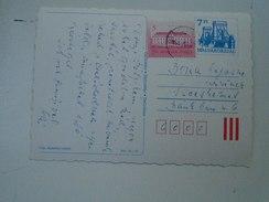 D149794 HUNGARY-Entier Postal Stationery -  Blue Bridge Stamp  7  Ft   Printorg - Easter