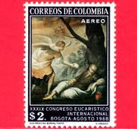 Nuovo - MNH - COLOMBIA - 1968 - 39° Congresso Eucaristico - Il Sogno Del Profeta Elia, Di G.Vasquez - 2.00 P. Aerea