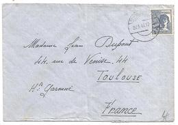 ALLEMAGNE OCCUPATION LETTRE POUR LA FRANCE DU 27/5/1948