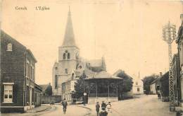 Genk - Genck - Le Kiosque Et L' Eglise - Genk