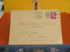 Marcophilie (Lettres)>Oblitérations Mécaniques(flammes) 75 Paris,rue De La Boétie, UNICEF Un Enfant Sauvé - 1970 - Marcophilie (Lettres)