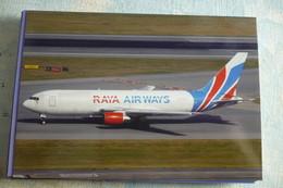 RAYA AIRWAYS  B 767 200F - 1946-....: Era Moderna