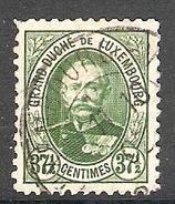 004313 Luxemburg 1891 37 1/2c FU Perf 11.5 X 11