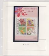 MACAO- MACAU  - BLOC 1991 N°17 - FLORES E JARDINS - MNH**  AVEC COMMENTAIRES / TBS