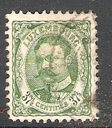 004314 Luxemburg 1906 37 1/2c FU - 1906 William IV