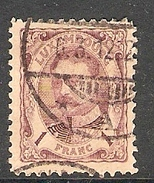 004315 Luxemburg 1906 1F FU - 1906 William IV