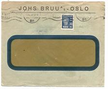 NORVEGE LETTRE DE OSLO POUR LA FRANCE DU 3/11/1930