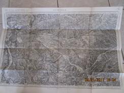 Carte Topographique Etat Major 80 000 Eme Révisée 1895 N° 70 LUNEVILLE St Nicolas Du Port Charmes Raon L Etape ... - Topographical Maps