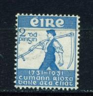 IRELAND  -  1930  Royal Dublin Society  2d  Mounted/Hinged Mint - 1922-37 Stato Libero D'Irlanda