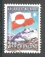 004318 Greenland 1989 Flag 3K20 FU - Groenlandia