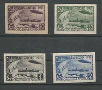 UDSSR,1931,Mi.-Nr. 402B-05B, */**,Polarfahrt LZ 127, Graf Zeppelin