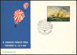 YUGOSLAVIA PORTOROZ 1969 - 6th ADRIATIC CUP OF SKYDIVING - Paracadutismo