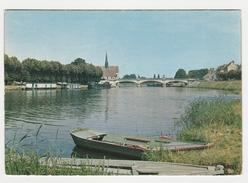 89 Sens Les Bords De L'Yonne  Barque Péniche Pont - Sens