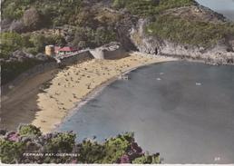 CPSM 10X15 . ROYAUME UNI . GUERNSEY . Fermain Bay ( Vue Aérienne) - Guernsey