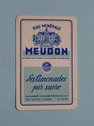 Eau Minérale MEUDON Bruxelles / JOKER ( Details - Zie Foto´s Voor En Achter ) !! - Playing Cards (classic)