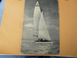 Shipp Schiff Barca A Vela Sailing Boat Segelboot Vitorlás Balaton Hungary - Segelboote