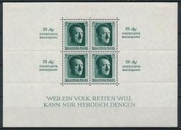 D. Reich Block 9 * ~ Michel 100,-- Euro