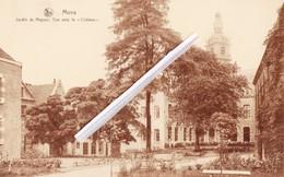 """MONS - Jardin Du Mayeur, Vue Vers Le """"Château"""""""