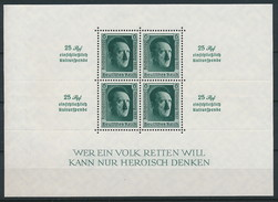 D. Reich Block 11 * ~ Michel 100,-- Euro