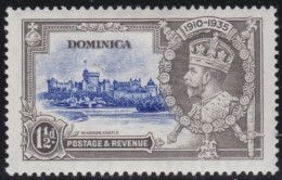 Ceylon    .      Vertical Dash On Left Of Chapel       .     *       .         .    Mint-hinged - Dominica (...-1978)