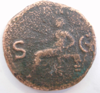 Pièce De Monnaie Ancienne Origine à Déterminer Diamètre 27 Mm épaisseur 2,8 Mm Poids 9 Grammes. - Origine Inconnue
