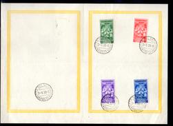 1939    FDC, Couronnement Du Pape Pie XII, 86 / 89 Sur Lettre, Cote MI 25 €,