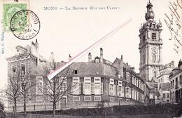 MONS - Le Beffroi, Rue Des Clercs