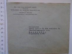 D149811  Hungary    Cover  - Dr. Utr. Juris Balint Jenö  Budapest XI. Horthy Miklos út 42 Ca 1940