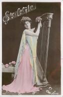 Prénom - Musique - Harpe - Femme - Ste Cécile - Prénoms