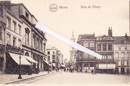 """MONS - Rue De Nimy - Avec Sur L'angle """"Café Central"""" Et à Côté """"à La BelleVue"""""""