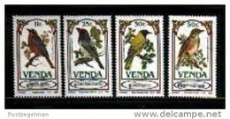 VENDA, 1985, MNH Stamp(s), Songbirds,  Nr(s) 103-106 - Venda