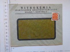 D149815  Hungary    Cover  NITROKÉMIA  RT  Budapest  1942