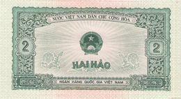 Vietnam - Pick 69 - 2 Hao 1958 - Unc - Vietnam