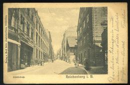 AUSTRIA  Reichenberg  Vintage Postcard  1900 - Autriche