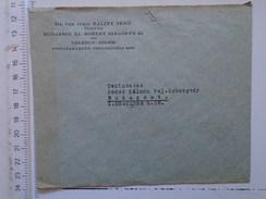 D149818  Hungary    Cover  - Dr. Utr. Juris Balint Jenö  Budapest XI. Horthy Miklos út 42  -1942