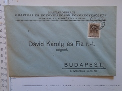 D149820  Hungary    Cover  - Magyarorszagi Grafikai Rok. F. Egyesülete Budapest  -1942