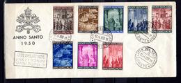 1950   Année Sainte Sur Lettre Avec Cachet Année Jubilaire, 150 / 157,