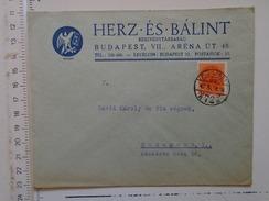 D149823 Hungary    Cover  - HERZ és BALINT  RT -   Budapest  -1942