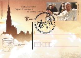 Poland Pologne, World Youth Day Cracow 2016. Pope John Paul II. Czestochowa 2016